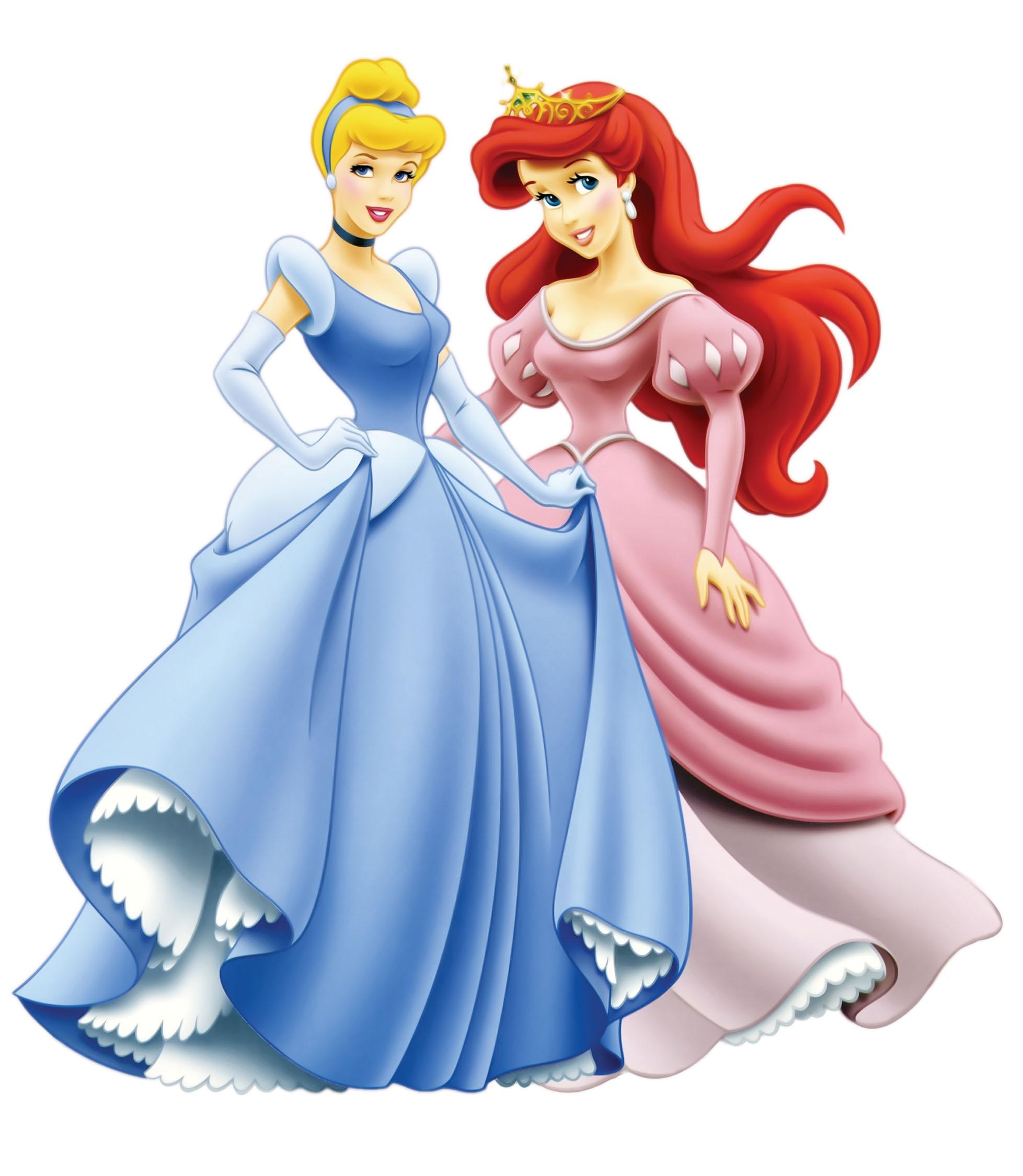 Скизки про принцесс