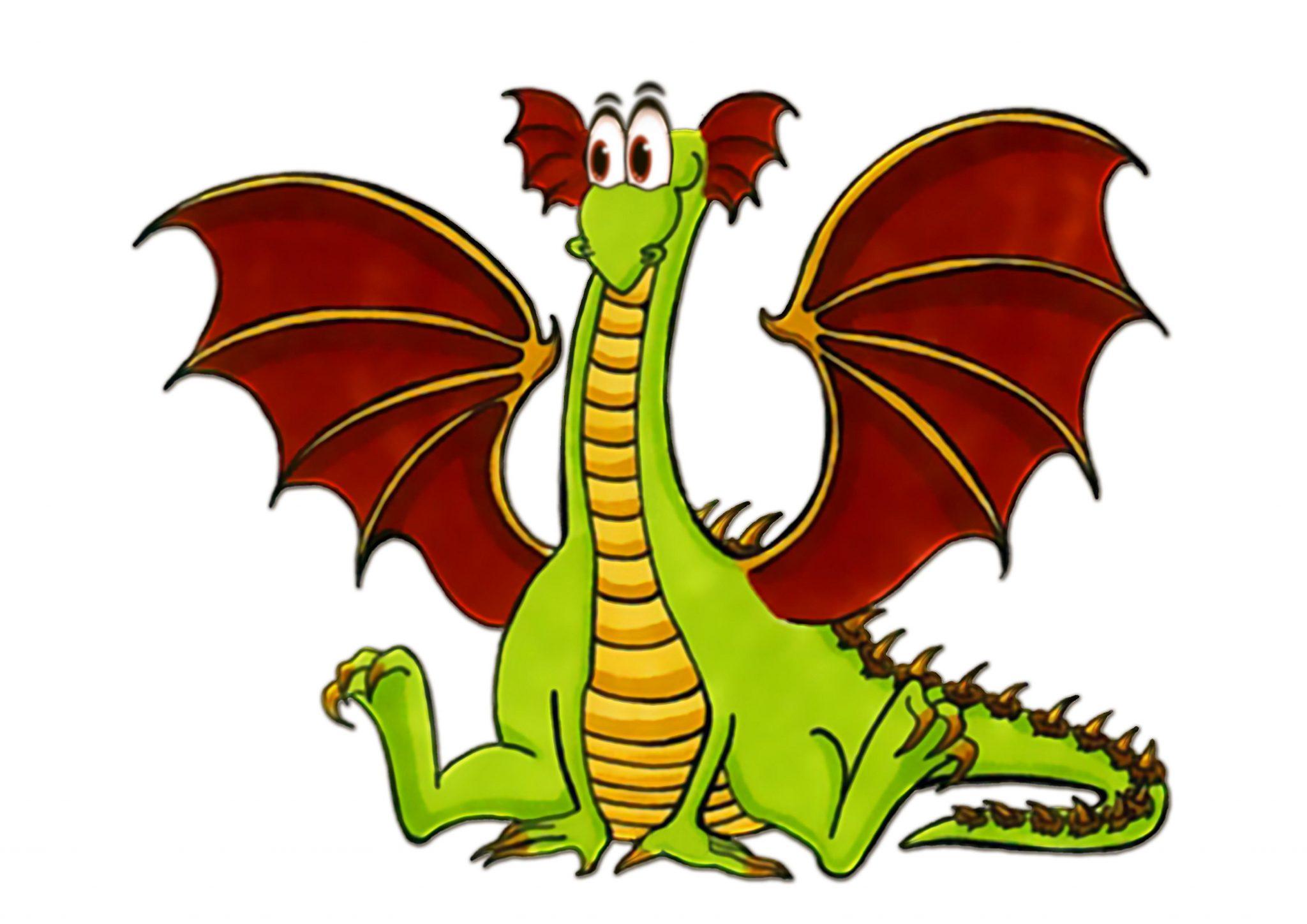 Рисунок доброго дракон