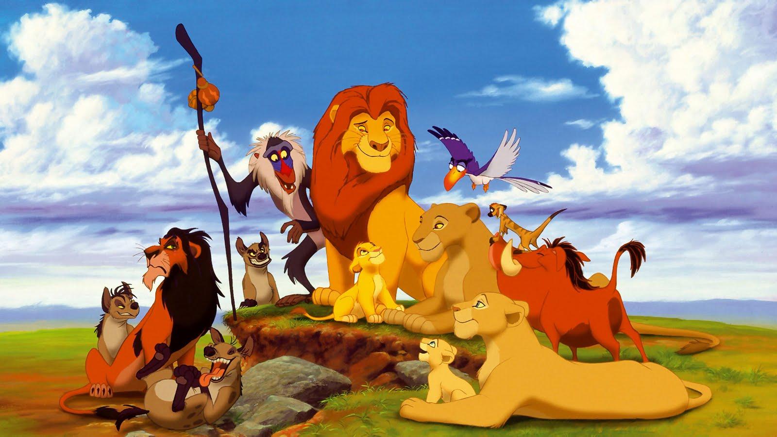 король лев картинки из мультфильма