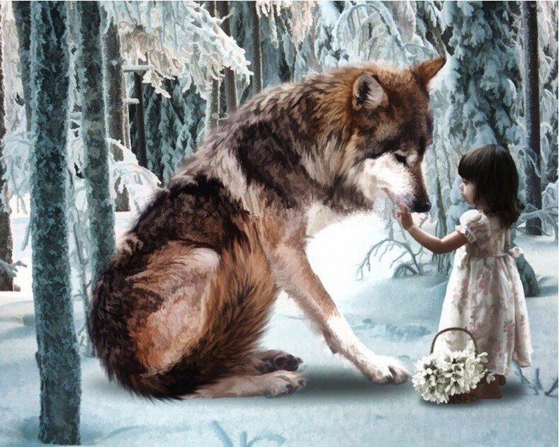 прикладывать картинки пес и волк одна волчица а пес по всем кукла носит костюм
