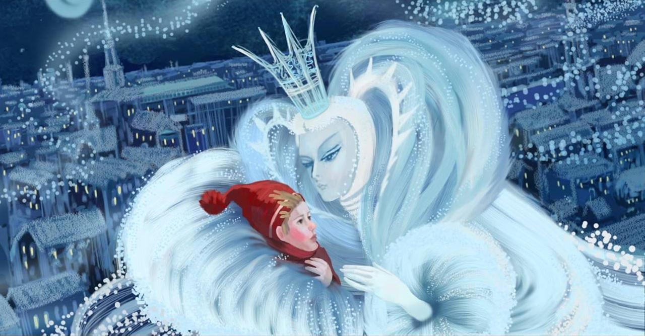 Сказка про снежную королеву картинки