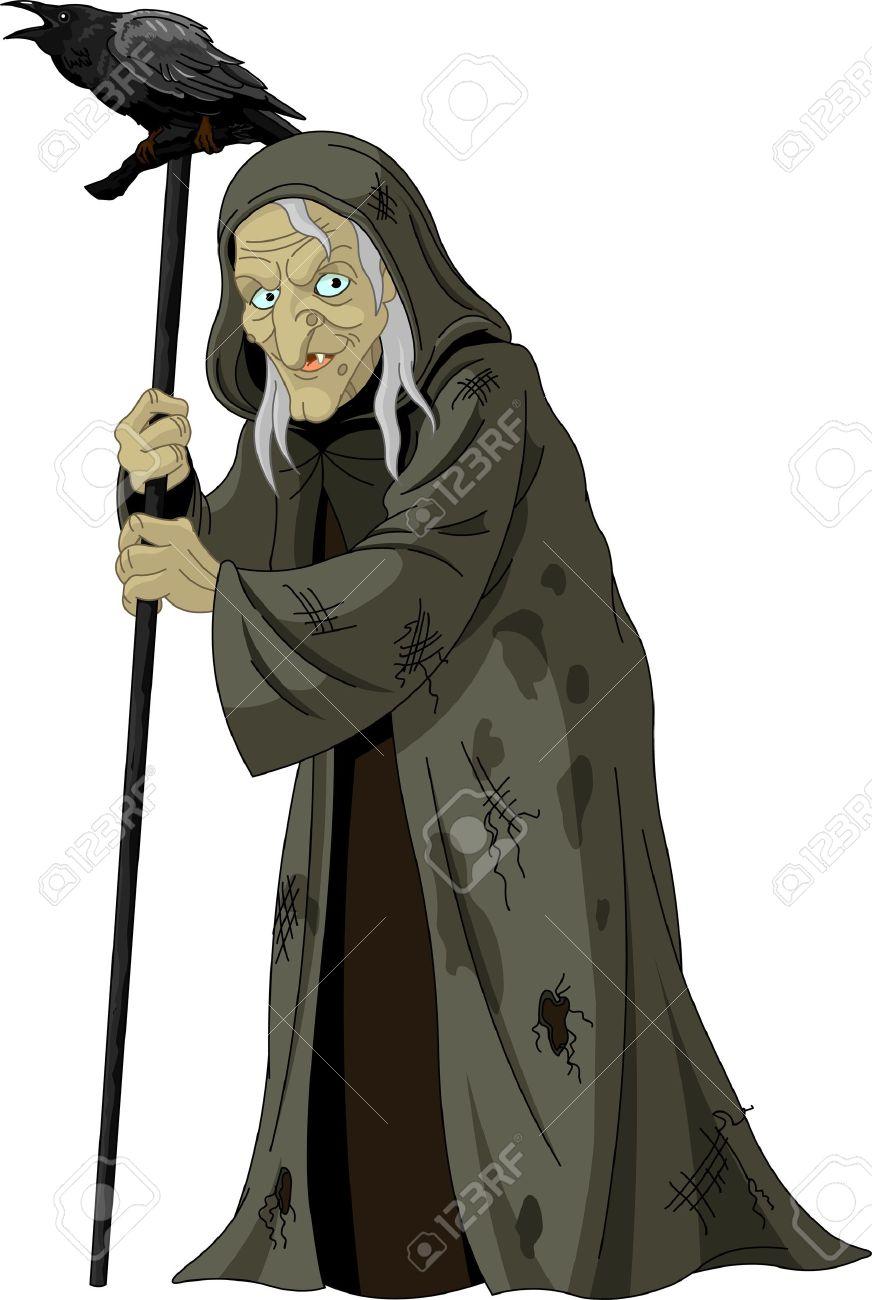 Сказка про ведьму
