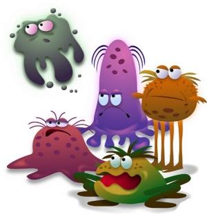 Казка про бактерії та Їжачка Буля