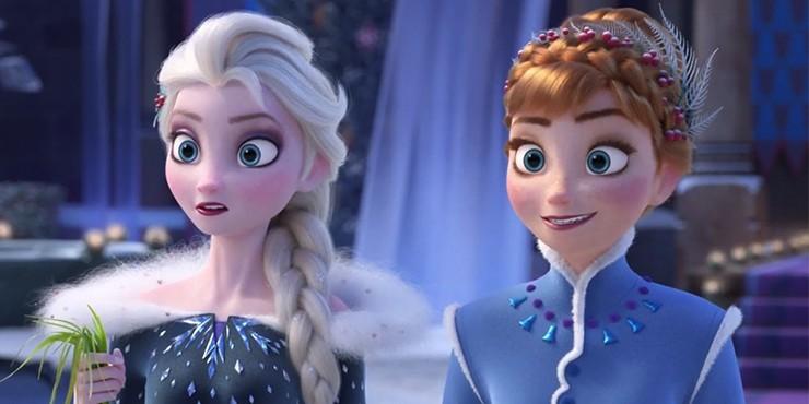Сказка про Эльзу и Анну